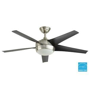 Windward iv 52 in brushed nickel ceiling fan replacement parts ebay image is loading windward iv 52 in brushed nickel ceiling fan aloadofball Gallery