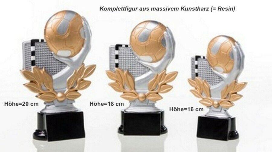 3er Serie Pokale Handball ST3918456 (H=20-16cm) inkl.Gravur 46,75 EUR