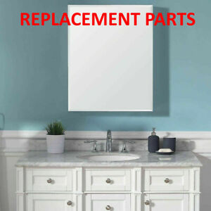 Replacement Parts For Ove Decors Mirrored Single Door Medicine Cabinet Ebay