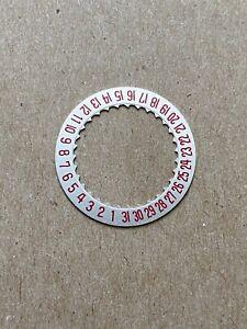 Breitling Date Disc Wheel 2557-1 Navitimer Superocean Chronomatic Cal 11 12 15