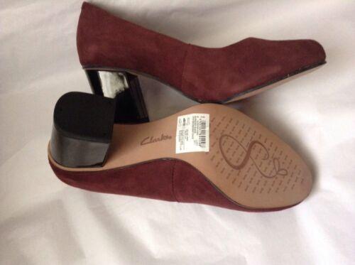 Novedades E sin Park Zapatillas On Slip Aldwych Bloque Suede Burgundy Zapatos 5 cordones 3 36 xnnSXBr
