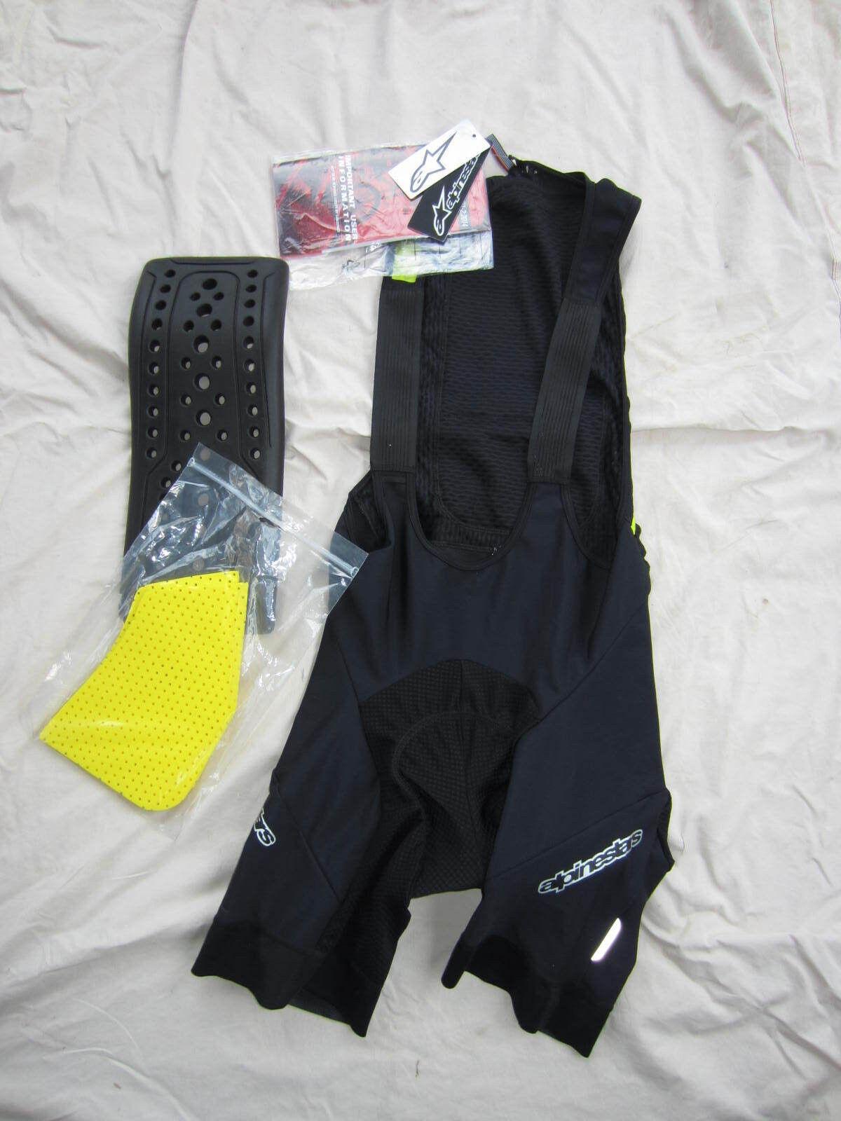 NEW - AlpineStars Paragon Predective Bib Shorts, XL
