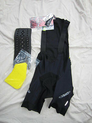 Select Size NEW AlpineStars Paragon Protective Bib Shorts