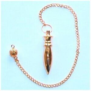 Pendulo-Nil-Metal-Dorado
