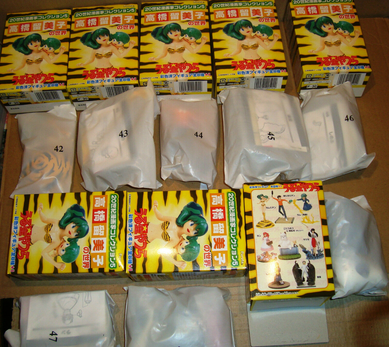 URUSEI YATSURA FIGURE COLLECTION SET 8 PZ FURUTA 2003    (LAMU' うる星やつら) 87c541