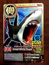 Animal Kaiser Original English Version Ver 3 Card (A002: Great White Shark)