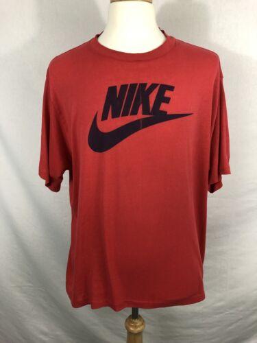 50 Tee Camiseta In 3xl Logo Vtg 80s o 50 Usa Tama Swoosh Raro roja Nike 90s Made 0xwtpq1z