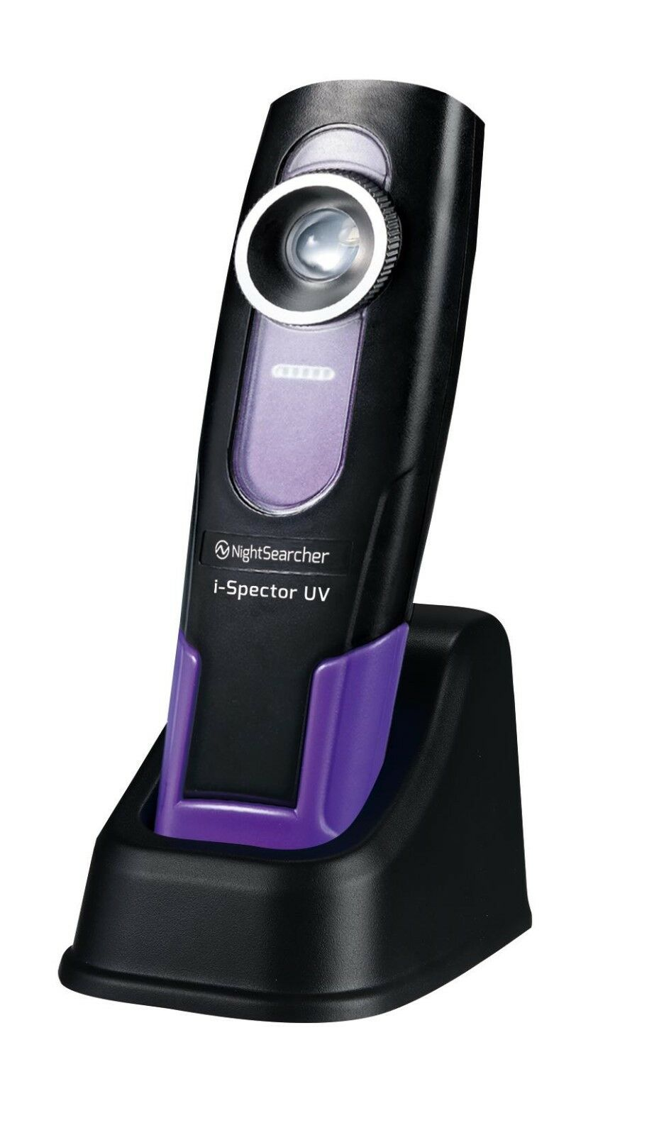 NightSearcher i-Spector UV - Rechargeable Ultra purple 395nm Inspection Light