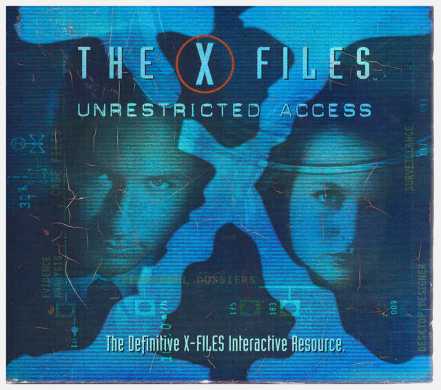 X FILES UNRESTRICTED ACCESS (PC, 1997,Windows 95)