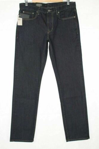 John Varvatos Men/'s Authentic Classic Straight Stretch Dark Indigo J310U1B BLLD