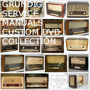 Grundig Radio Service Manuals Schematics Owners Huge Mega Collection PDF DVD !!