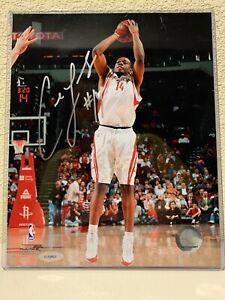 Carl Landry Signed Houston Rockets 8x10 Photo Tristar