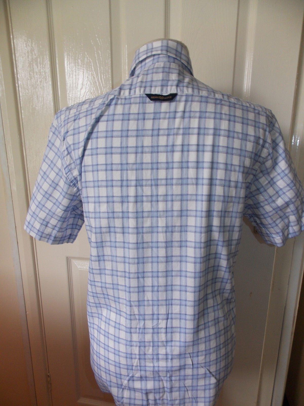 Superbe nouvelle chemise Homme Homme Homme Henri Lloyd Chemise RRP £ 64.99 Royaume-Uni Petit homme 452cd7