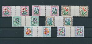 LO10479 Andorra taxation plants flora nature flowers gutter pairs MNH