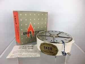 Vintage Mid Century EKCO Hotplate Plate Food Warmer Kitchen Kitchenalia Retro