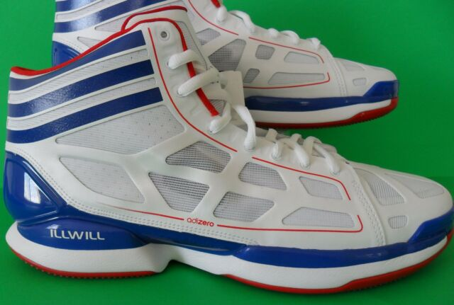 innovative design 9ff23 6f1f6 PLAYERS EDITION~Adidas ADIZERO CRAZY LIGHT ILLWILL Basketball Shoe rose~Men  14.5