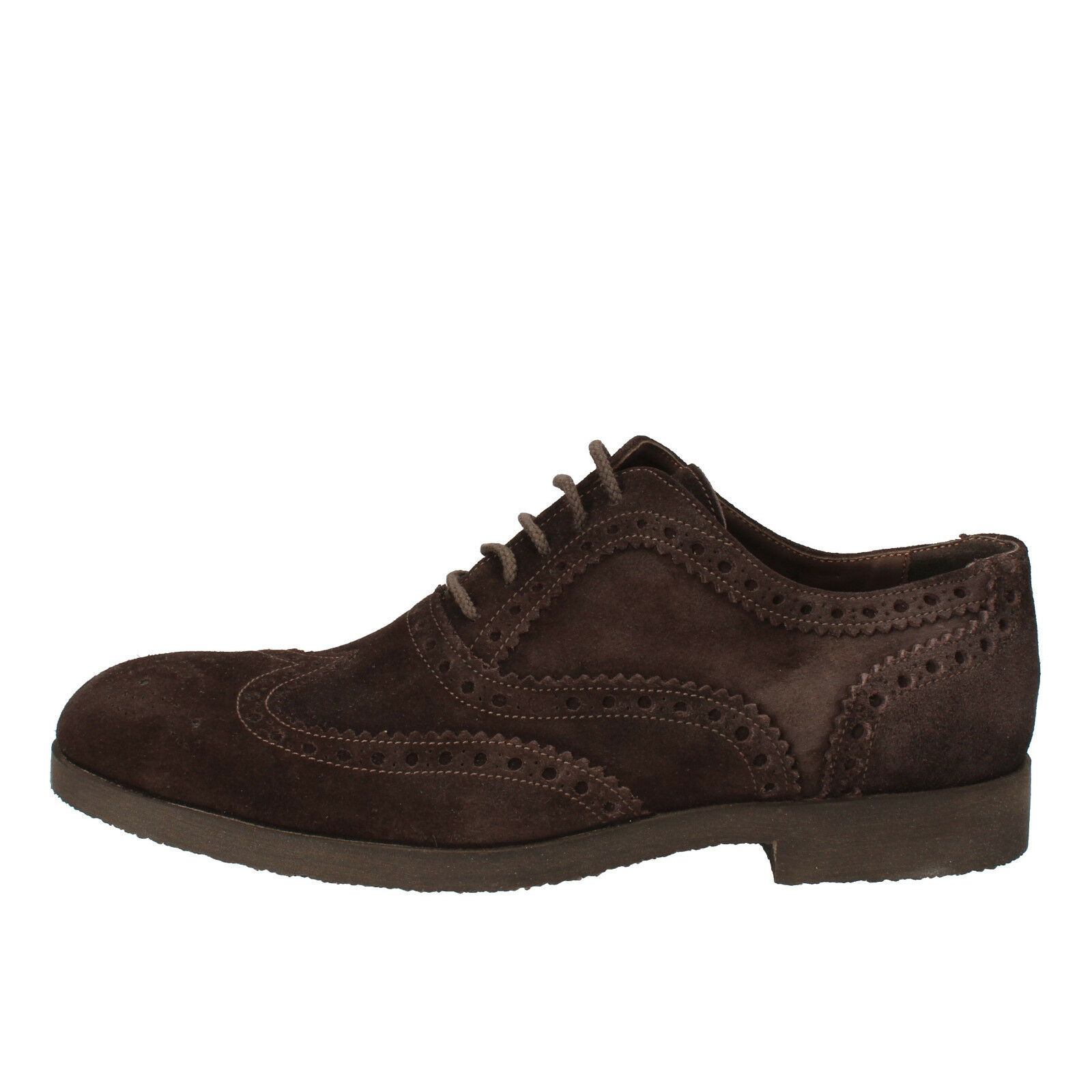 Uomo Scarpe TODAY BY CALPIERRE 10 (EU 43) elegant brown suede AD537-D