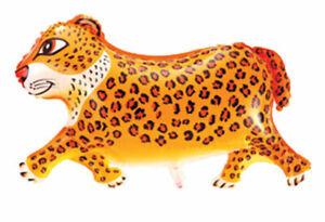 Diapositives-ballon-Animal-Leopard-Helium-Ballon-ballon-animal-en-cours