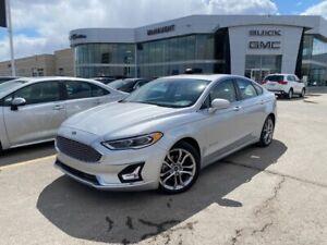 2019 Ford Fusion Titanium   Heated Seats   Navigation  
