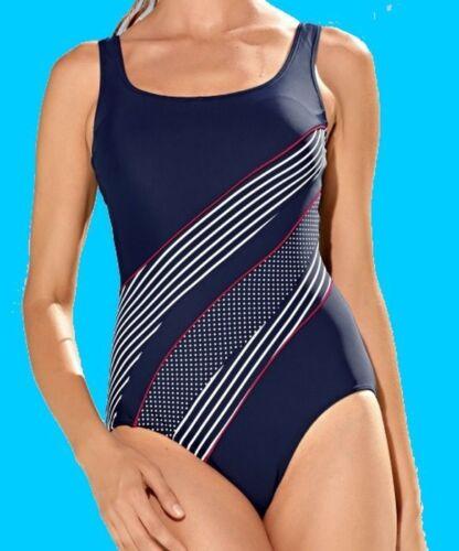 38 o 40 Coppa C Nuovo Costume da bagno Marine-BIANCO-ROSSO Optimizer MIS