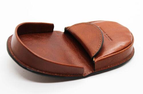 """Porte monnaie façon /""""cuvette/"""" en cuir réf R6741 noir, marron ou marron foncé"""