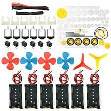 6 Set Dc Motor Small Mini Electric Motors Hobby Diy 15v To 3v Batteries 2400