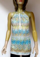 Missoni Mare Halter Neck Top Mini Dress