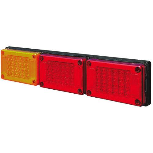 10-30V (STOP/TAIL) x2/IND JUMBO 604 x 132mm TRIPLE POD JUMBO LAMPS 1PC