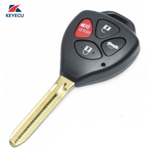 Replacement Remote Car Key Fob for Toyota Camry 2007-2010 Fcc# HYQ12BBY 4D67