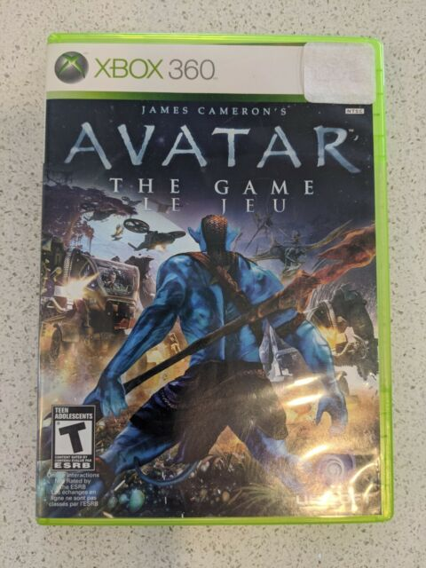 Avatar: The Game (Microsoft Xbox 360, 2009) CIB Tested and Working