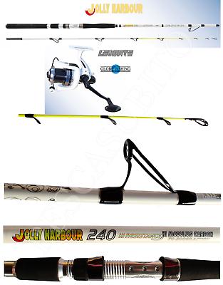 Other Fishing Rods Cooperative Combo Bolentino Canna Pesca Jolly 2.40m 70/300g Mulinello Levante Dentice Rods