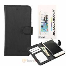 For iPhone 7 7 Plus PU Leather Credit Card Holder Wallet Flip Case Cover
