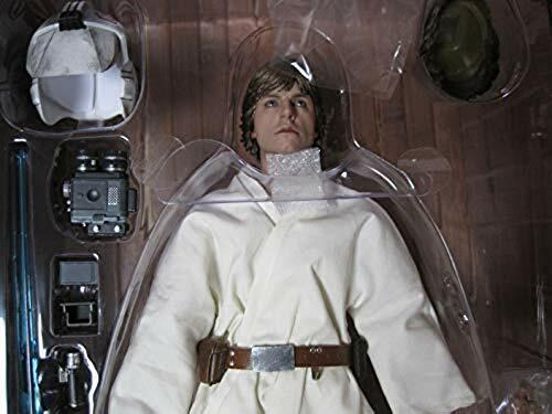 Hot Toys Star Wars Episode IV A New Hope Luke Skywalker 1 6 Good condition F S