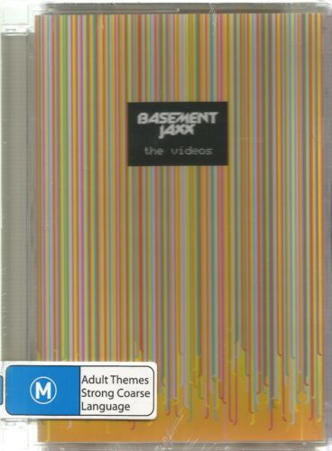 1 of 1 - BASEMENT JAXX  - THE VIDEOS.  / DELUXE CASE. (THE CHEMICAL BROTHERS , DAFT PUNK)