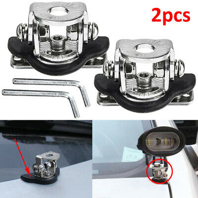 Universal Hood lamp holder Mount Bracket Engine Cover Bonnet for Car Auto Offroad Excavator Truck Sedan Saloon