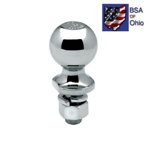 Draw-Tite-Trailer-Hitch-Ball-2-034-with-3-4-034-Shank-63887