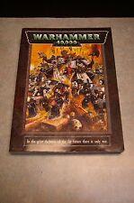 1998 'WARHAMMER 40K' 'GAMES WORKSHOP' 'CITADEL MINIATURES' RULE BOOK
