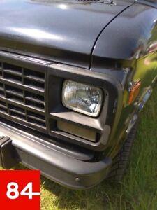 gmc-vandura-Chevrolet-g10-g20-g30-Chevy-3500-faros-us-UE-marca-de-verificacion-e