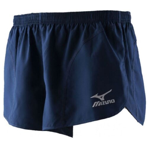 #A330 Mizuno Woven Short Solid Team Running Brand New Navy Size X-Large Mens
