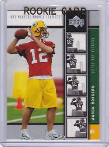 Aaron Rodgers Rookie Card 2005 Upper Deck Rc Premiere