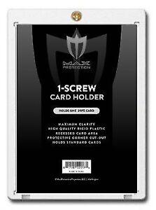 100-MAX-PRO-1-SCREW-SCREWDOWN-REGULAR-TRADING-CARD-STORAGE-HOLDERS-20pt