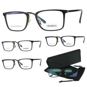 ca18188efe10 Image is loading Optical-Quality-Rectangular-Minimal-Designer-Eyeglasses- Frame