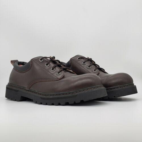 Skechers Men's Alley Utility Cat Oxford Work Shoes