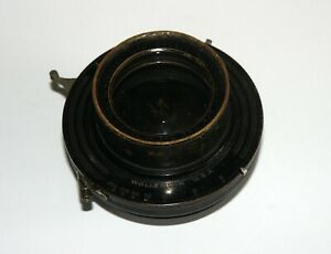 ULTRA-RARE-DOUBLE-ANASTIGMAT-THE-SCIENTIFIC-30-cm-F6-8-Lens-WOLLENSACK-SHUTTER