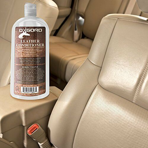 Car Leather Cleaner Conditioner Vinyl Auto Seat Surface Furniture Restorer 22oz