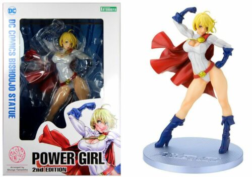 DC Comics POWER GIRL Bishoujo Statua-UK Venditore