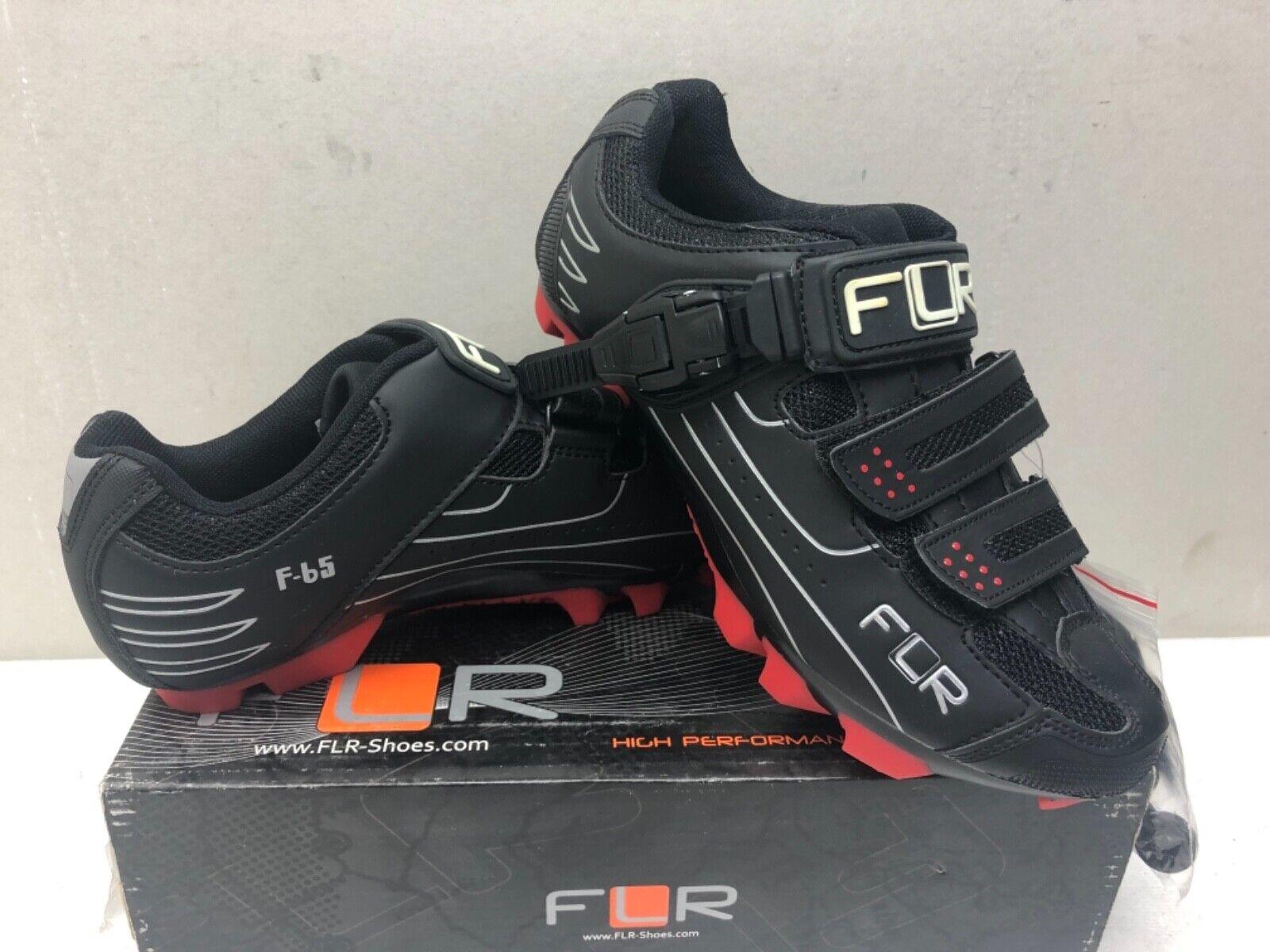 FLR F65 Scarpe MTB Ciclismo II NERO uomo WOMAN'S Taglia EU 40