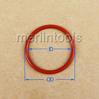 1.8mm Section Select ID from 4mm to 60mm VMQ Silicone O-Ring gaskets
