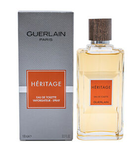 Heritage-by-Guerlain-3-3-3-4-oz-EDT-Cologne-for-Men-New-In-Box