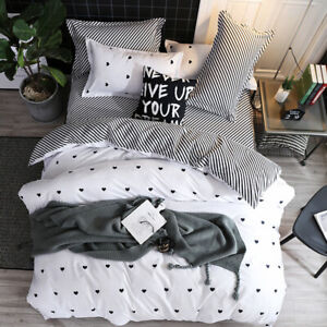 UK-Size-Bedding-Set-With-Duvet-Cover-Pillow-Cases-Quilt-Cover-Single-Double-King